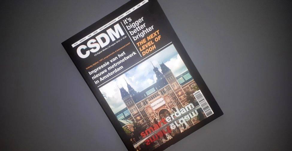 Amsterdam Special: CSDM Magazine #3 is nu uit!