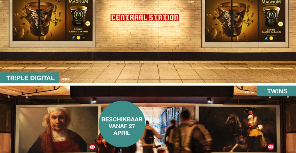 Nieuwe schermen in Amsterdam