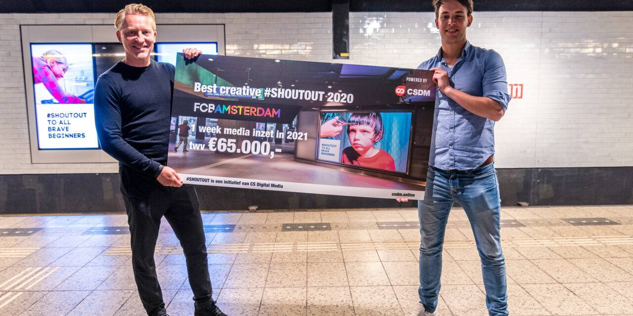 FCB Amsterdam wint '#SHOUTOUT'-campagne