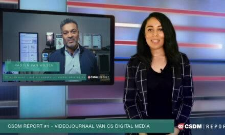 CSDM Report #1 – Videojournaal van CS Digital Media